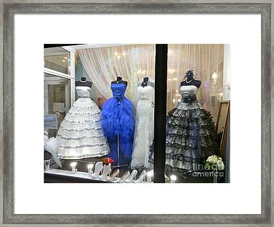 Bridal Fashion Of St. Petersburg Framed Print
