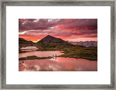 Bridal Veil Basin 2 Framed Print