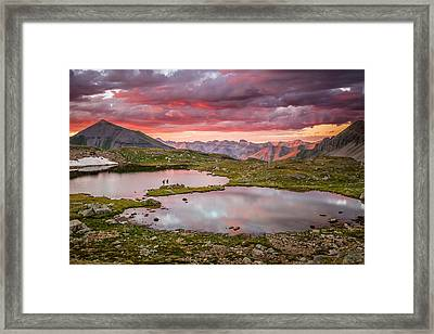 Bridal Veil Basin Framed Print