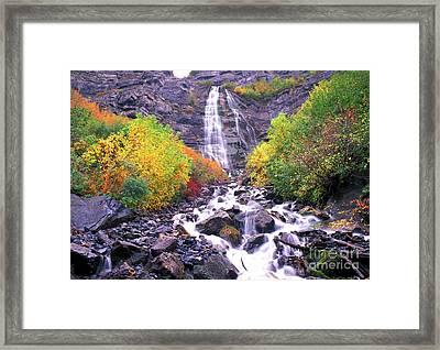 Bridal Veil Falls Framed Print by Dave Hampton Photography