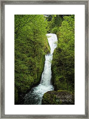 Bridal Veil Falls Framed Print by Jon Burch Photography