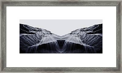 Bridal Veil Falls Reflection Framed Print by Pelo Blanco Photo