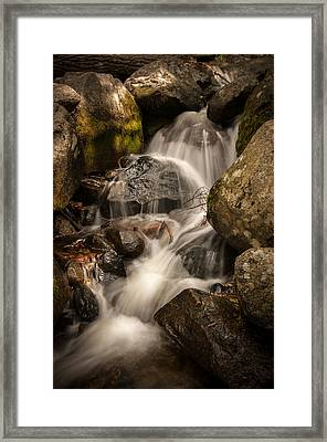 Bridal Veil Water Framed Print