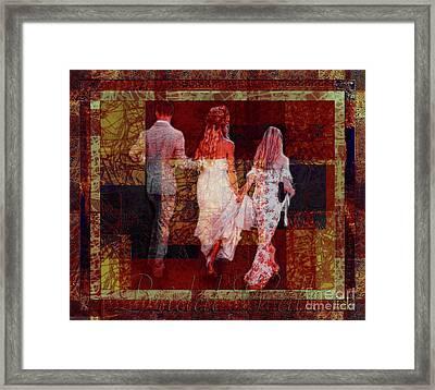 Bridal Walk Framed Print