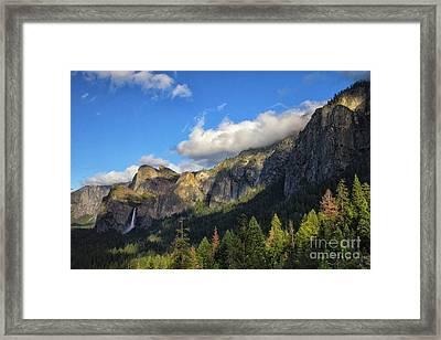 Bridalveil Fall Framed Print