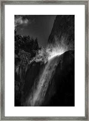 Bridalveil Falls-yosemite Framed Print by Jim Dohms