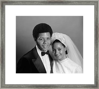 Bride And Groom, C.1970s Framed Print by H. Armstrong Roberts/ClassicStock