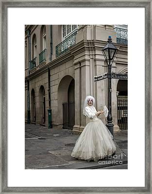 Bride Of Jsq 3 - Nola Framed Print by Kathleen K Parker