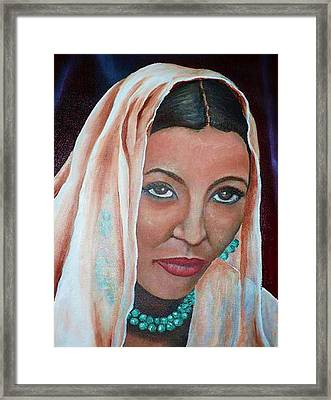 Brideprice Framed Print by Alima Newton