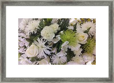 Bride's Choice Framed Print by Seaux-N-Seau Soileau
