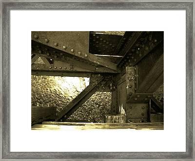 Bridge 1 Framed Print by Larry Ney  II