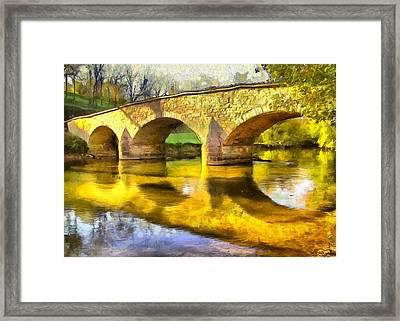 Bridge At Antietam Framed Print