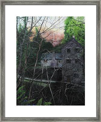 Bridge At Bontuchel Framed Print by Harry Robertson