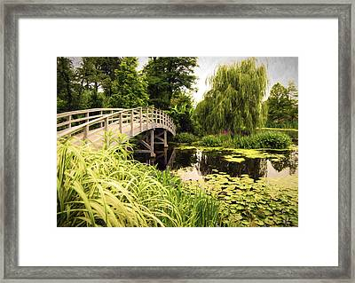 Bridge At Petersburg Framed Print