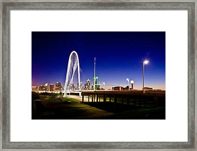 Bridge At Sunrise Framed Print