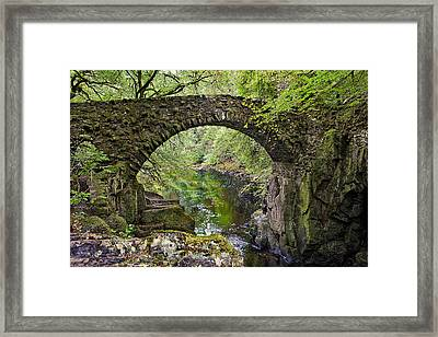 Bridge At The Hermitage Framed Print by Jim Dohms
