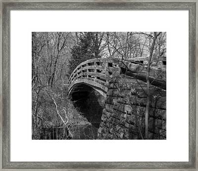 Bridge Back In Time Framed Print