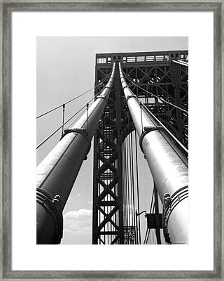 Bridge Framed Print by Daniel Napoli