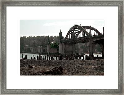 Bridge Deco Framed Print