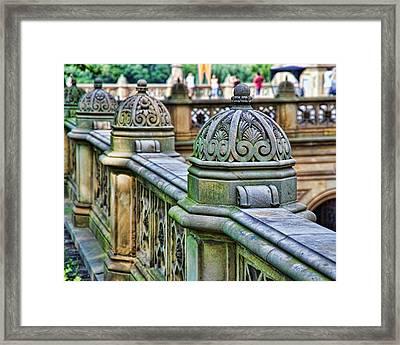 Bridge Detail 3 Framed Print