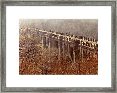 Bridge Framed Print by Don Youngclaus