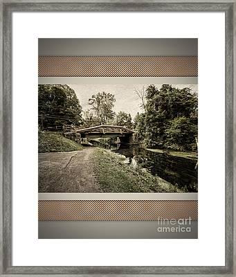 Bridge For Charity Framed Print