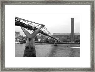 Bridge For You Framed Print by Jez C Self
