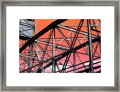 Bridge  Frame -  Ver. 11 Framed Print