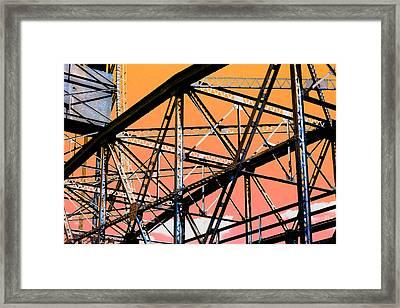 Bridge  Frame -  Ver. 12 Framed Print