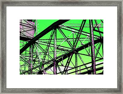 Bridge  Frame -  Ver. 3 Framed Print