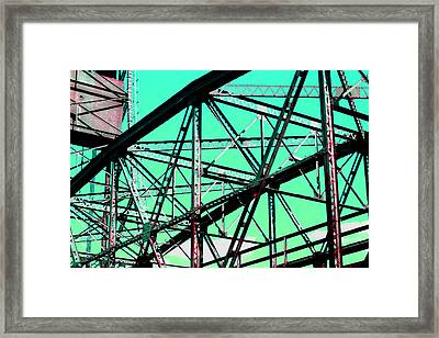 Bridge  Frame -  Ver. 4 Framed Print