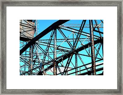 Bridge  Frame -  Ver.  5 Framed Print