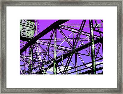 Bridge  Frame -  Ver. 7 Framed Print