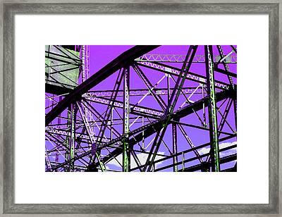 Bridge  Frame -  Ver. 7 Framed Print