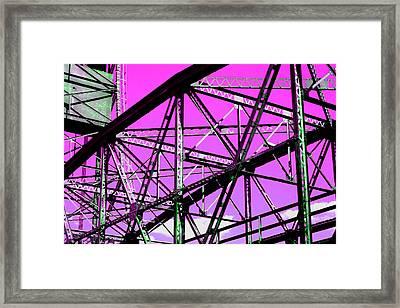 Bridge  Frame -  Ver. 8 Framed Print