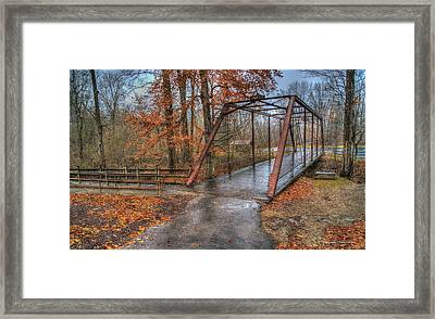 Bridge From The Past Framed Print by Wendell Thompson
