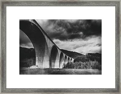 Framed Print featuring the photograph Bridge by Hayato Matsumoto