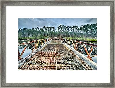 Bridge Into Tate's Hell Framed Print by JC Findley