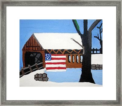 Bridge Framed Print by Jeff Caturano