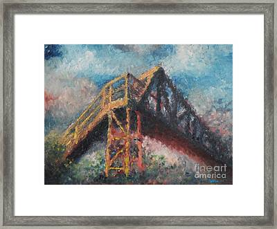 Bridge Framed Print by Jim Rehlin