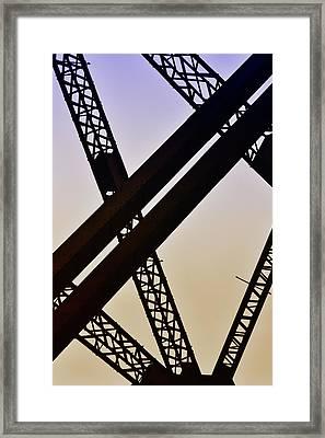 Bridge No. 1-1 Framed Print
