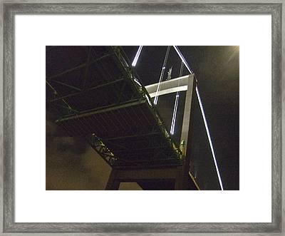 Bridge No 2 Framed Print by Dan Andersson