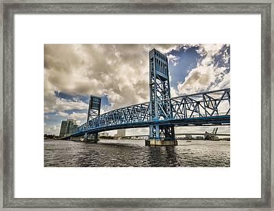 Bridge Of Blues Framed Print