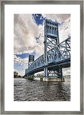Bridge Of Blues II Framed Print