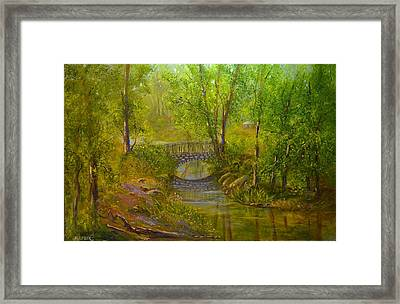 Bridge Of Delight Framed Print