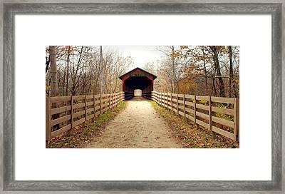 Bridge Of Dreams Framed Print by Robert Clayton