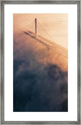 Bridge Of Dreams Framed Print by Vincent James