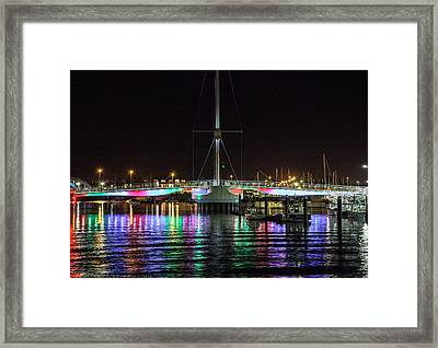 Bridge Of Lights Framed Print