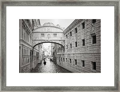 Bridge Of Sighs 5346-2 Framed Print