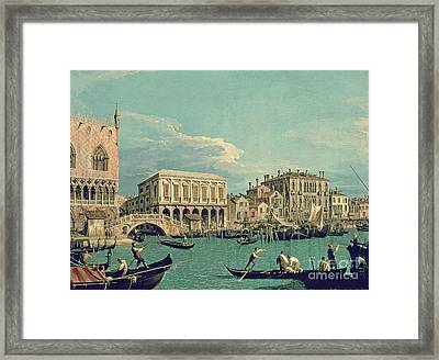 Bridge Of Sighs Framed Print by Canaletto